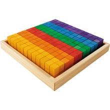 """Sinneskasten """"Regenbogen-Tetris"""""""