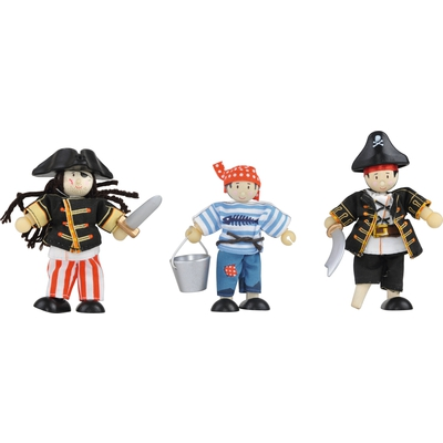 Biegepuppen-Set Piraten