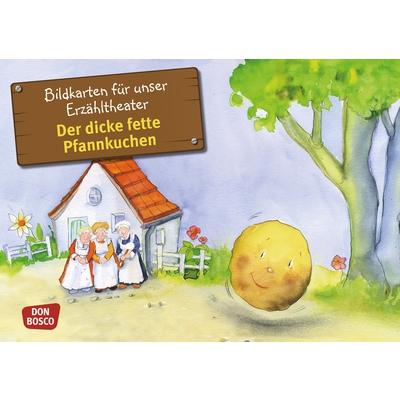 """Bildkarten """"Der dicke fette Pfannkuchen"""""""