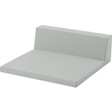 Quadrat mit Lehne