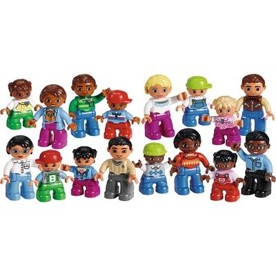 """LEGO® DUPLO® Set """"Menschen aus aller Welt"""""""