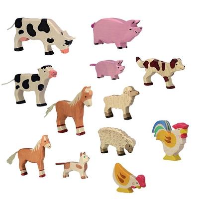 Bauernhoftiere-Set