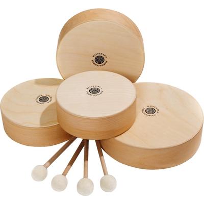 Holztamburin-Set