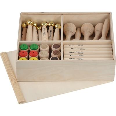 Holz-Instrumente-Box