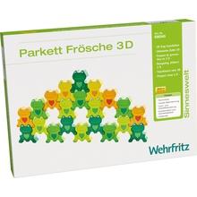 """Parkett """"Freche Frösche 3-D"""""""