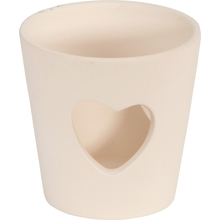 Keramik-Herz-Teelicht