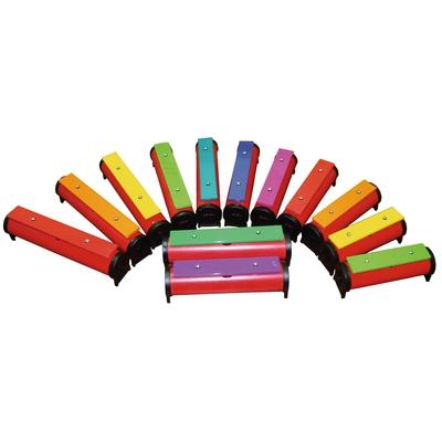 Farbige Glockenstäbe