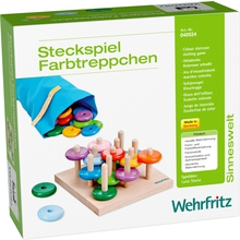 """Steckspiel """"Farbtreppchen"""""""
