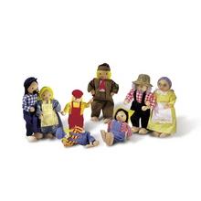 """Biegepüppchen """"Bauernfamilie"""""""