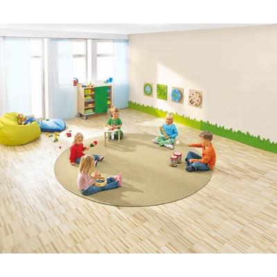 Bauteppich Sandbeige Teppiche Spielteppiche Polster Ruheraum