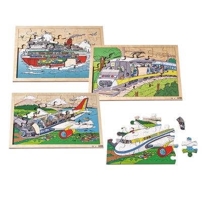 """Puzzle-Set """"Fahrzeuge"""""""