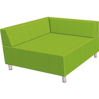 Relax-Sofa, quadratisch, mit 2 Rückenlehnen