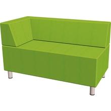 Relax-Sofa, rechteckig, Ecklehne links