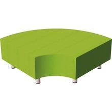 Relax-Sofa, Viertelkreis