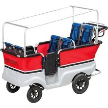 Krippenwagen, 6-Sitzer mit Motor