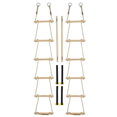 Strickleiterverbinder mit Strickleitern