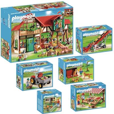 Playmobil Bauernhof Tiere Bauernhof Spielen Bauen Krippe
