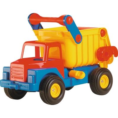 Riesen-LKW mit Flüsterreifen