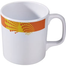 Tasse gelb/orange