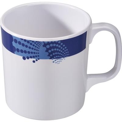 Tasse, blau