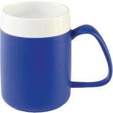 Thermobecher blau-weiß