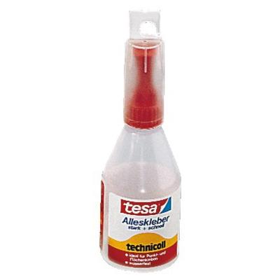 tesa-Alleskleber, Leerflaschen