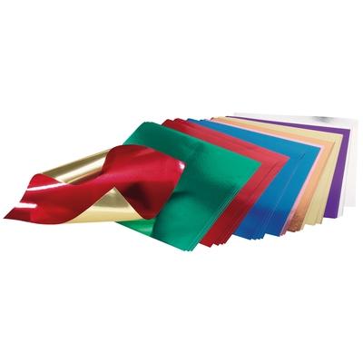 Faltblätter aus Metallpapier