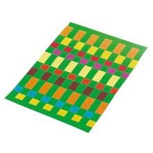 Flechtblätter aus Glanzpapier