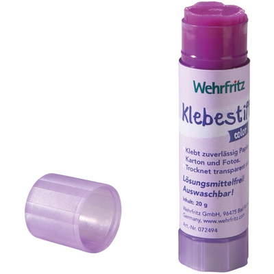 Wehfritz-Klebestifte, farbig
