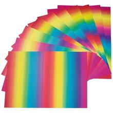 Regenbogen-Karton