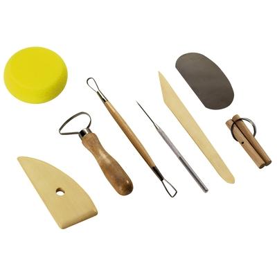 Töpferwerkzeug-Set