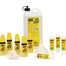 UHU-Klebstoffpaket mit Klebeband