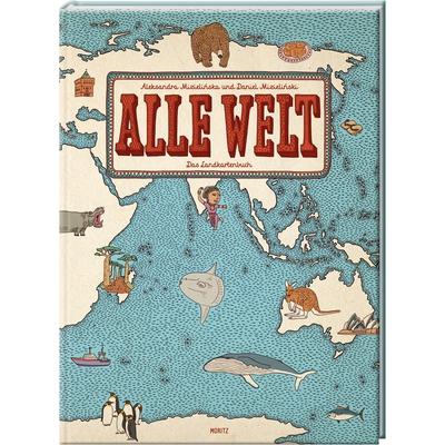 Alle Welt – Das Landkartenbuch