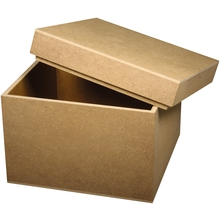 MDF-Box, quadratisch