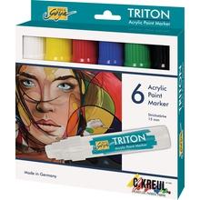 Triton-Acrylfarben-Stifteset dick