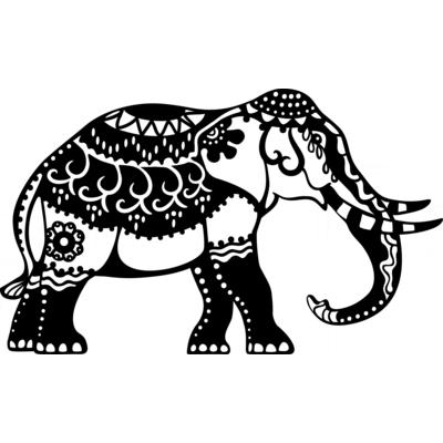 Silhouetten Schablone Elefant Malzubehor Zeichnen Malen