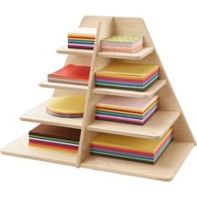 Faltblatt-Ständer komplett