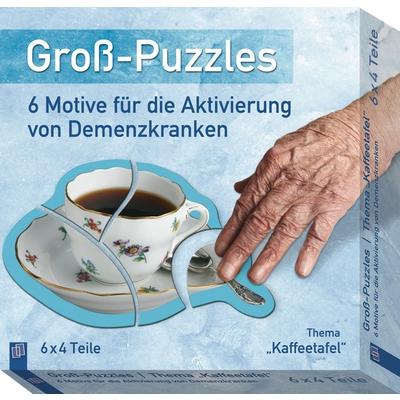 """Groß-Puzzle """"Kaffeetafel"""""""