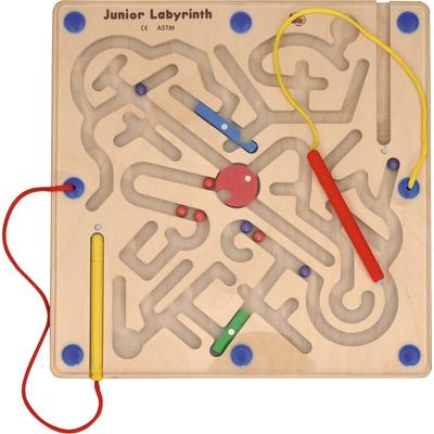 Kugellabyrinth, magnetisch