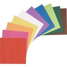 Faltblätter aus Tonpapier