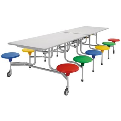 12er-Tisch-Sitz-Kombination (rechteckig)
