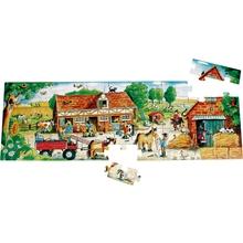 "Holz-Bodenpuzzle ""Ponyhof"""