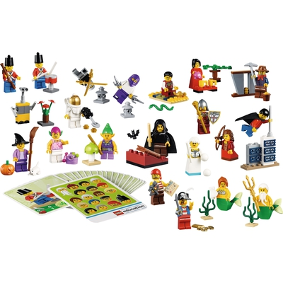 LEGO® Education Minifiguren-Set Fantasiewelt