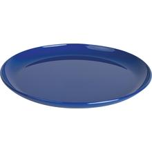 Teller flach, blau
