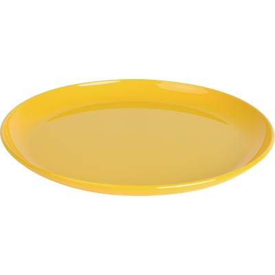 Teller flach, gelb