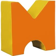 Schaumstoff-M-Baustein