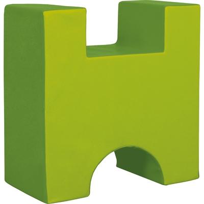 Schaumstoff-H-Baustein