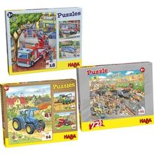 Puzzle-Set Fahrzeuge & Co.