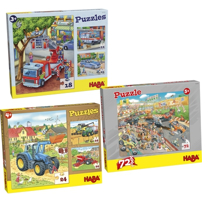 """Puzzle-Set """"Jungen"""""""
