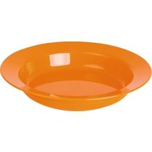 Teller tief, orange
